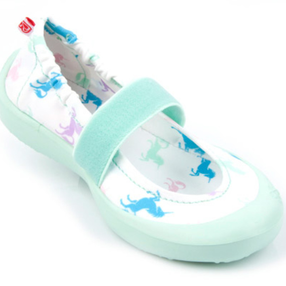 6f6241760518 Toddler unicorn print waterproof slip on shoes. Boutique. luv footwear
